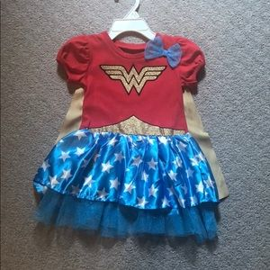 Baby Wonder Woman Halloween Costume!
